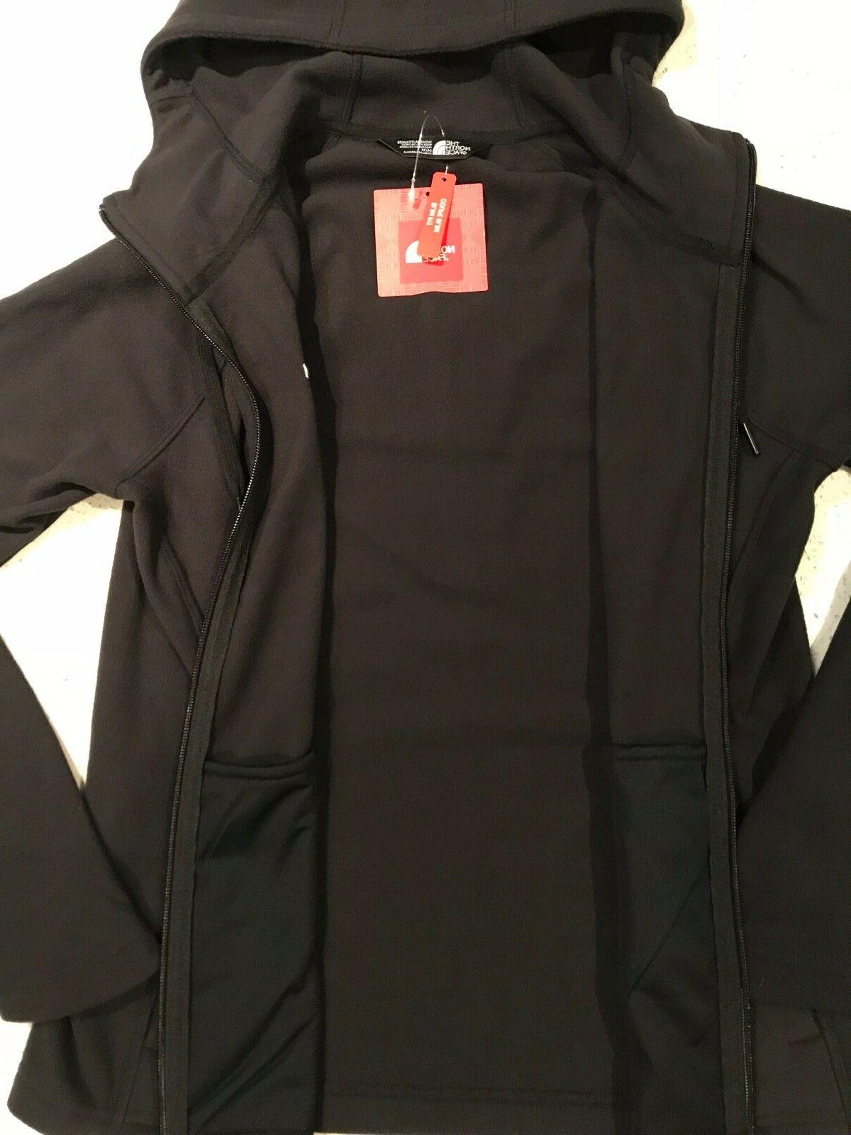 NWT! Women's 100 WT BLACK Zip Jacket!