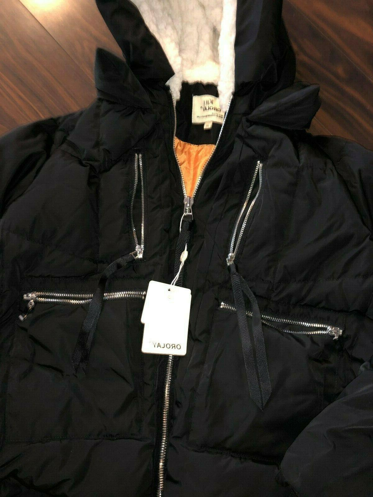 NWT Orolay Thickened Down Jacket.Sz XS