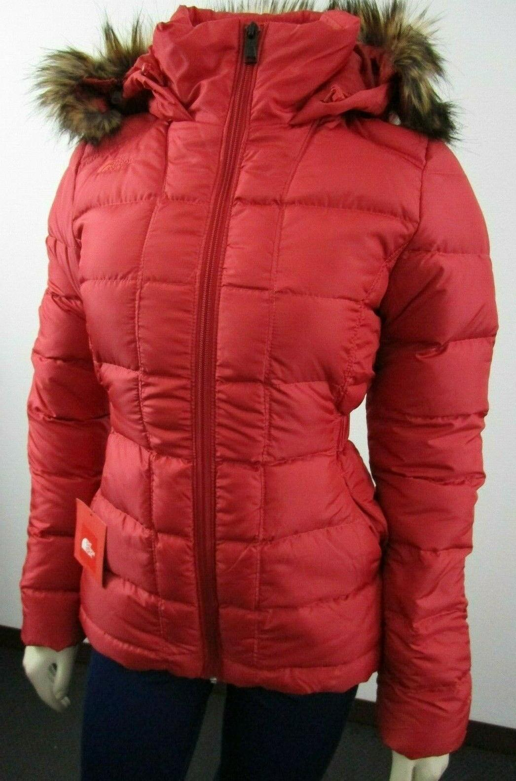 NWT The Face TNF Gotham Down Jacket - Red