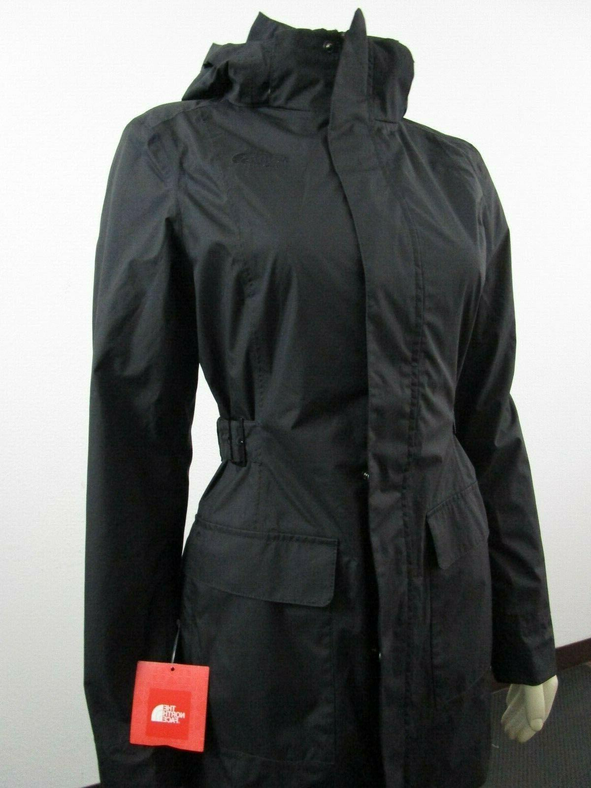 NWT Womens The Face By Waterproof Hooded Mid Jacket
