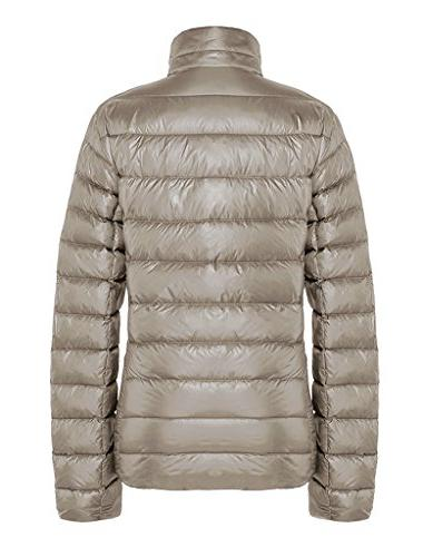 ZSHOW Outwear Down Coat Lightweight Packable Pillow Down Large,