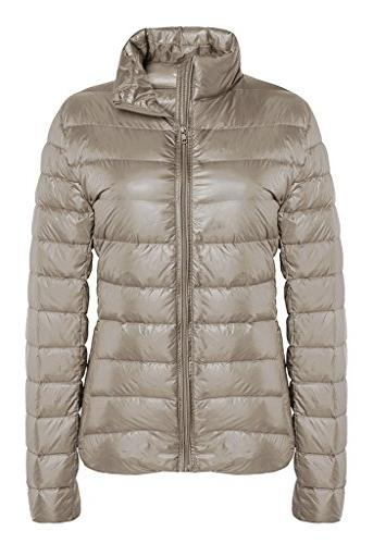 outwear down coat lightweight packable