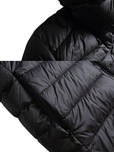 Packable Down Puffer Coat With Travel