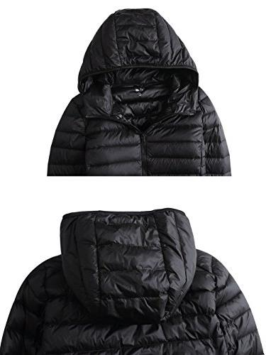 CIOR Packable Down Coat With