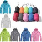 Unisex Waterproof Hooded Windbreaker Jacket Lightweight Zip