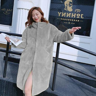 US Women With Fur Down puffer