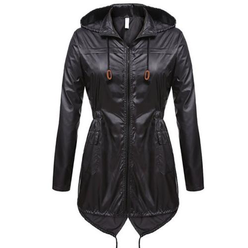 US Womens Winter Hooded Parka Fishtail Hoodies