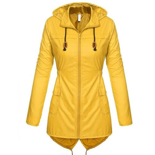 US Womens Winter Hooded Ladies Waterproof Parka