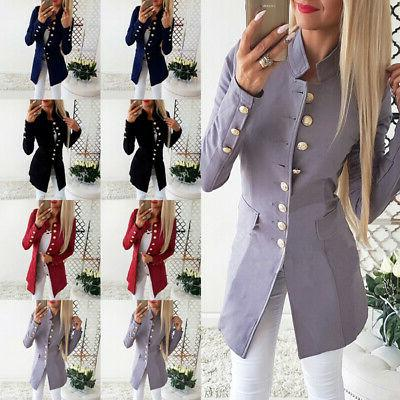 vintage women ol casual slim fit blazer