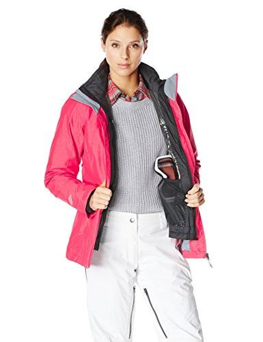 Columbia Whirlibird Jacket, Red