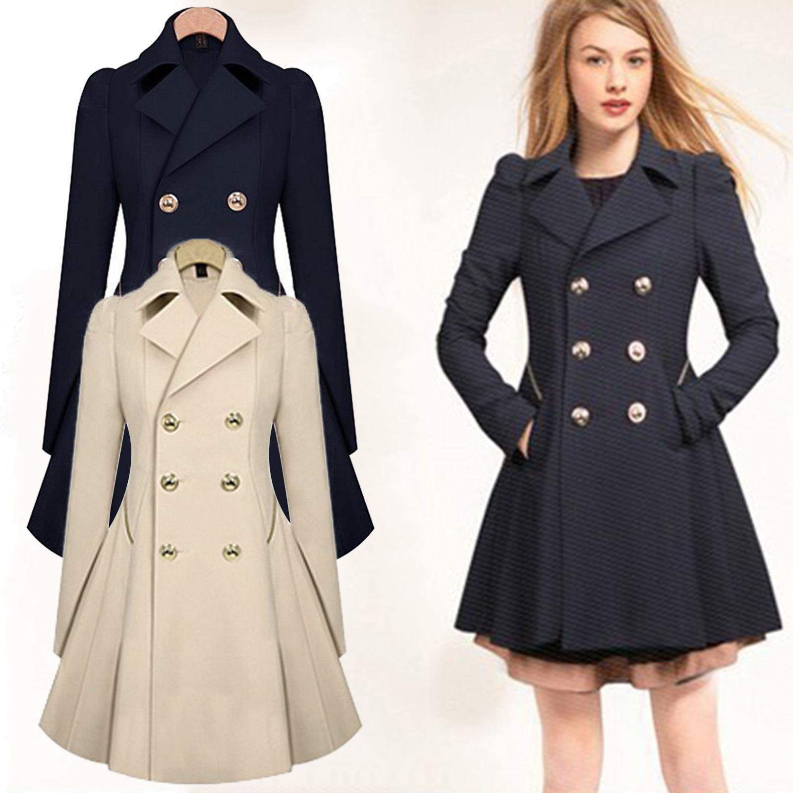 Womens Winter Coat Trench US