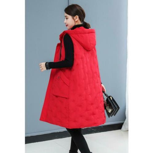 Winter Cotton Jacket Hooded Quilted