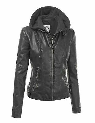Made Womens Quilted Motorcycle with