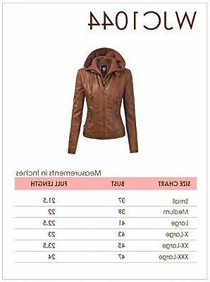 Made By Womens Leather Motorcycle with