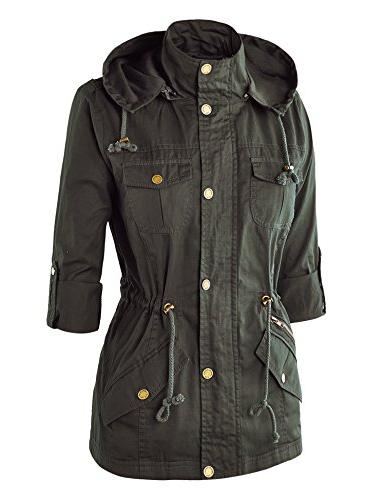WJC643 Womens Pop Color OLIVE