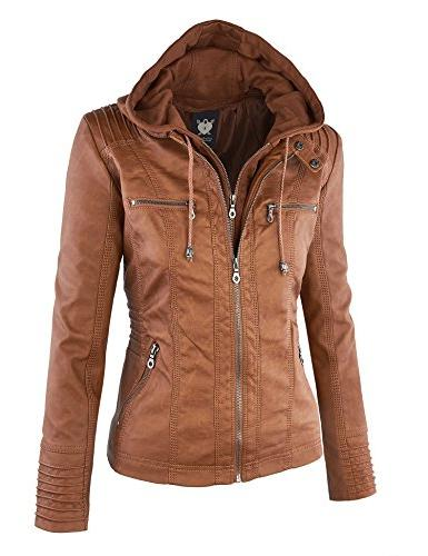 WJC663 Removable Hoodie Motorcyle L