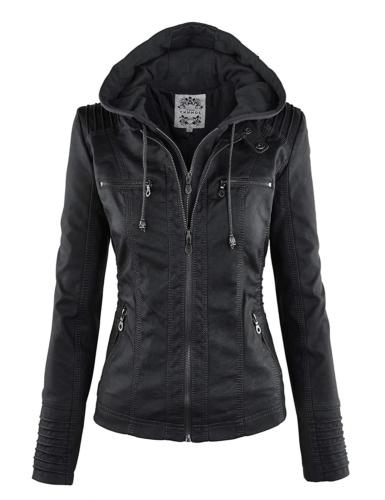 wjc663 womens removable hoodie motorcyle jacket xs