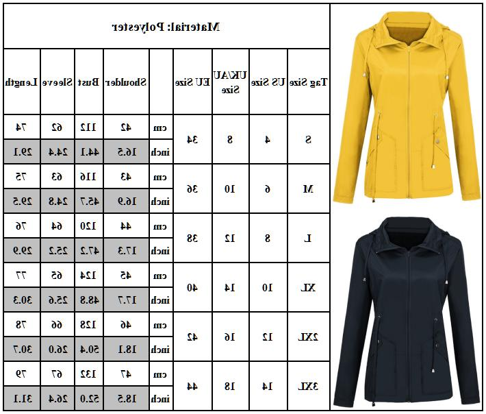 Women Men Raincoat Jacket Tops
