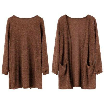 Women Long Cardigan Loose Outwear
