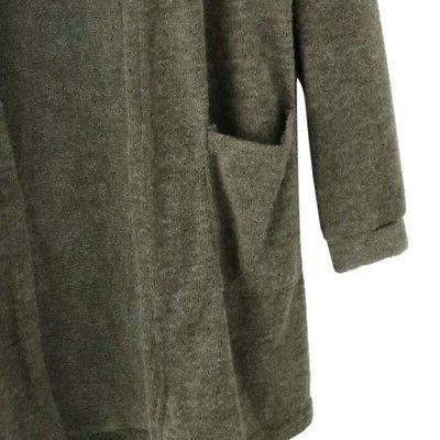 Women Sleeve Cardigan Casual Sweater Outwear Coat