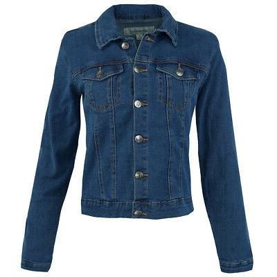 women s denim trucker jacket