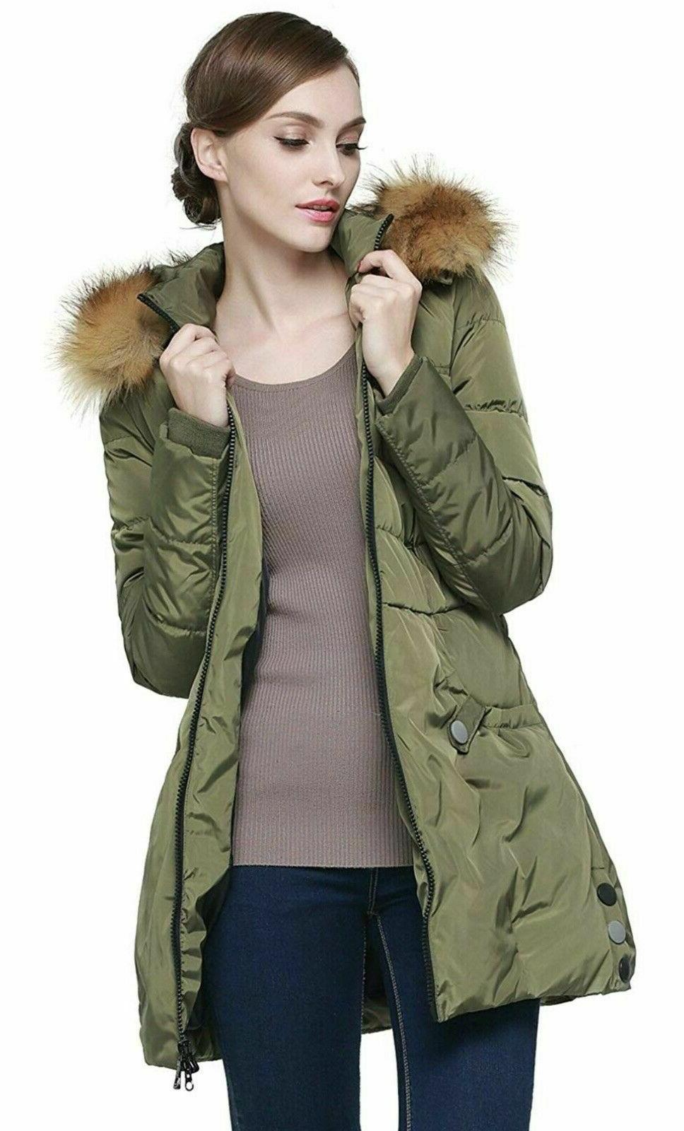 Orolay Down Jacket Hood Jacket Winter Ski Snow
