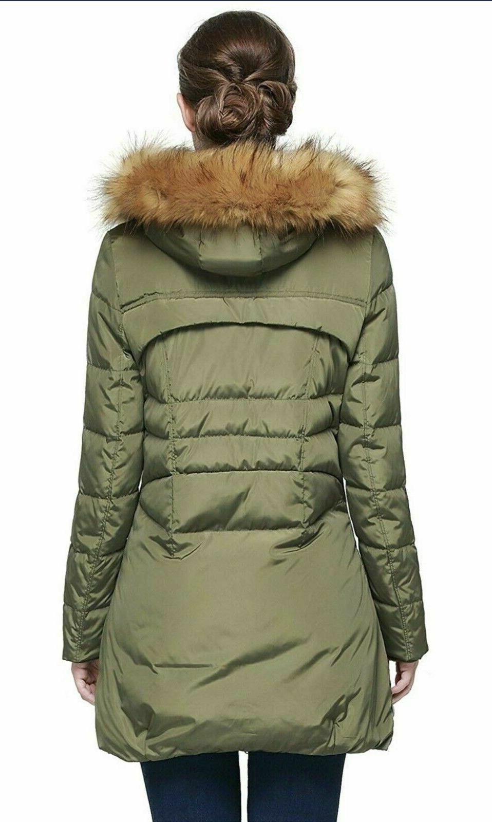 Orolay Women's Hood Small Jacket Winter