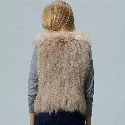Women's Faux Fur Coat Warmer Sleeveless