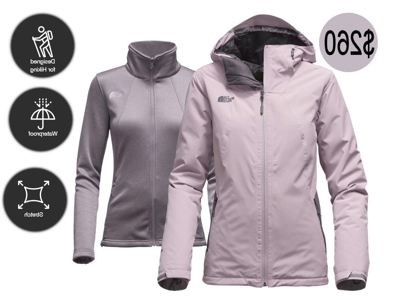 ♡THE NORTH FACE WOMEN'S HIGHANDDRY TRICLIMATE 3 IN 1 JACKE