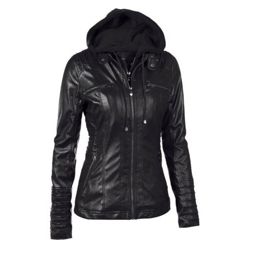 Women's Hoodie Fake Coat US
