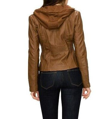 Lock and Jacket Small S Removable Hooded $65 #748