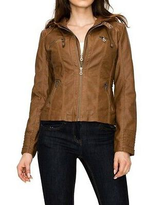 women s jacket brown size small s