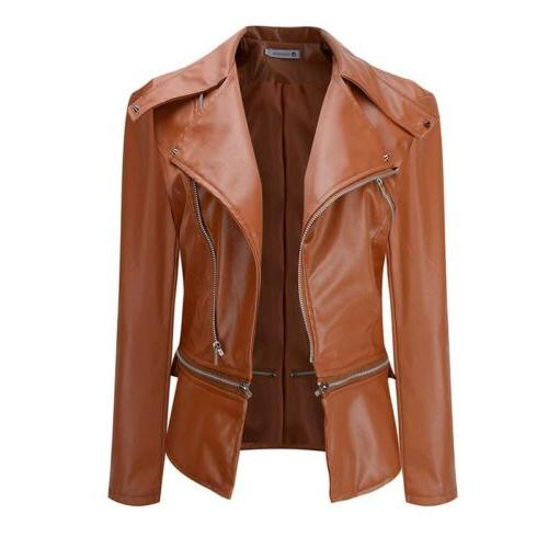 Womens Coat Jacket Lapel