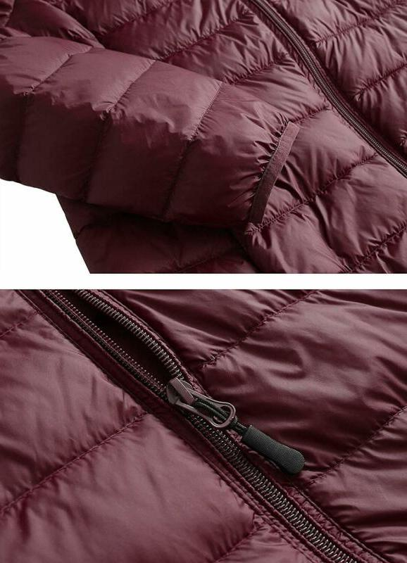 CIOR Packable Jacket Short Puffer Coat with