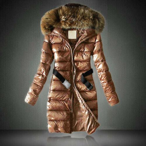 Women's Quilted Thickened Warm Hooded Parka