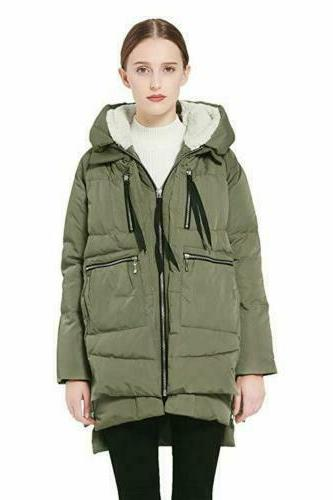 women s thickened down jacket size x