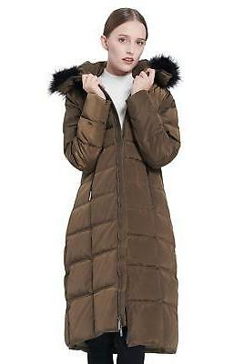 Orolay Women's Thickened Puffer Down Winter Coat ArmyGreen L