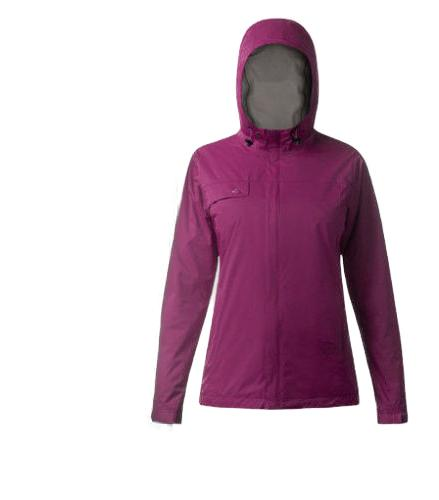 women s waterproof breathable rain jacket black