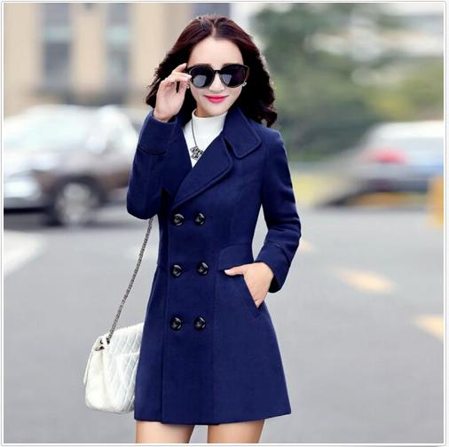 Breasted Coat Female Fashion