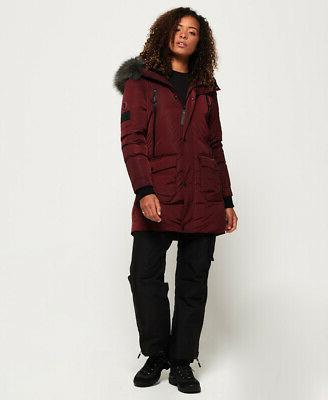 Superdry Womens Down Parka Jacket