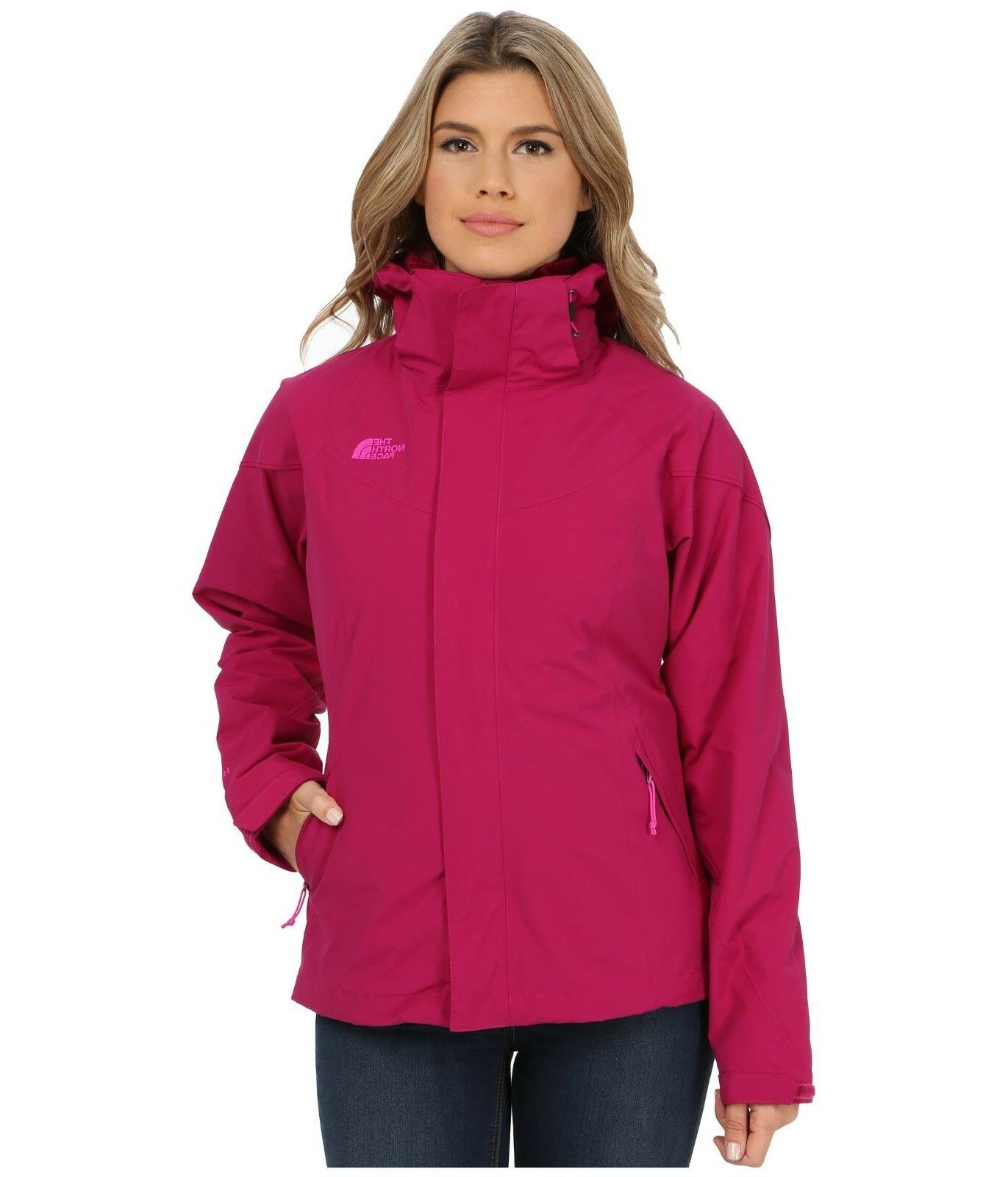 THE NORTH FACE WOMENS BOUNDARY TRICLIMATE 3IN1 JACKET WATERP