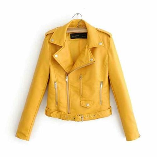 Leather Jackets Lapel Parka Motocycle Outdoor