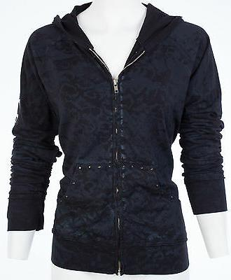 AFFLICTION ZIP UP Jacket Biker $74