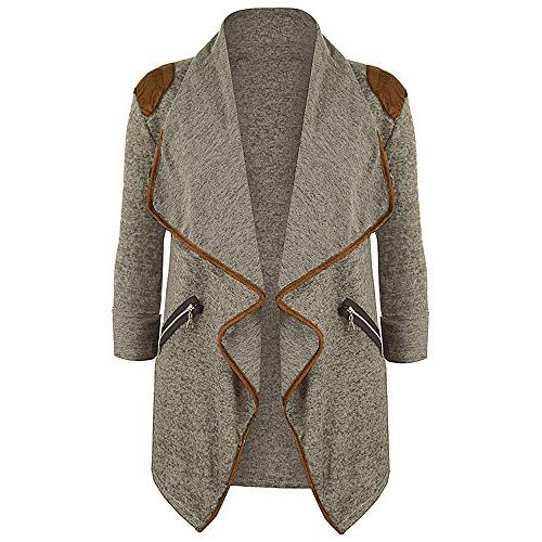 womens knitted casual long sleeve tops cardigan