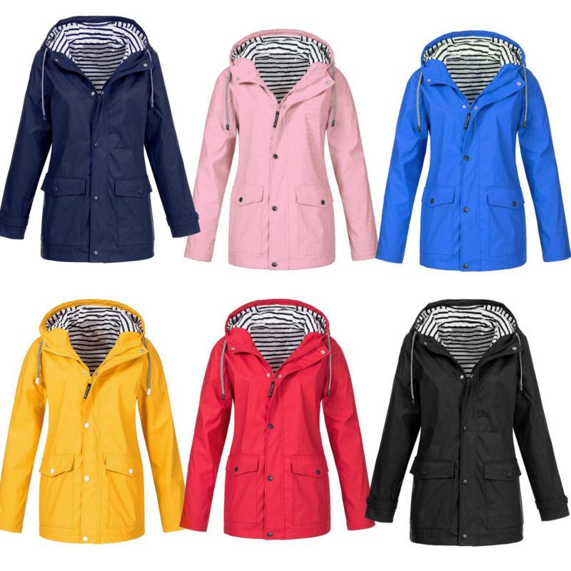 Womens Wind Jacket Winter Waterproof