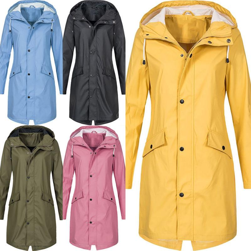 Plus Size Sleeve Outdoor Rain Coat