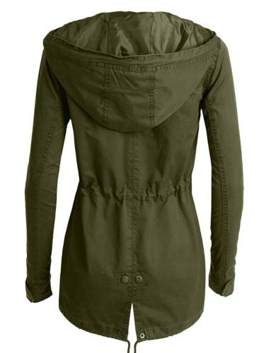 LE3NO Womens Military Safari with Pockets
