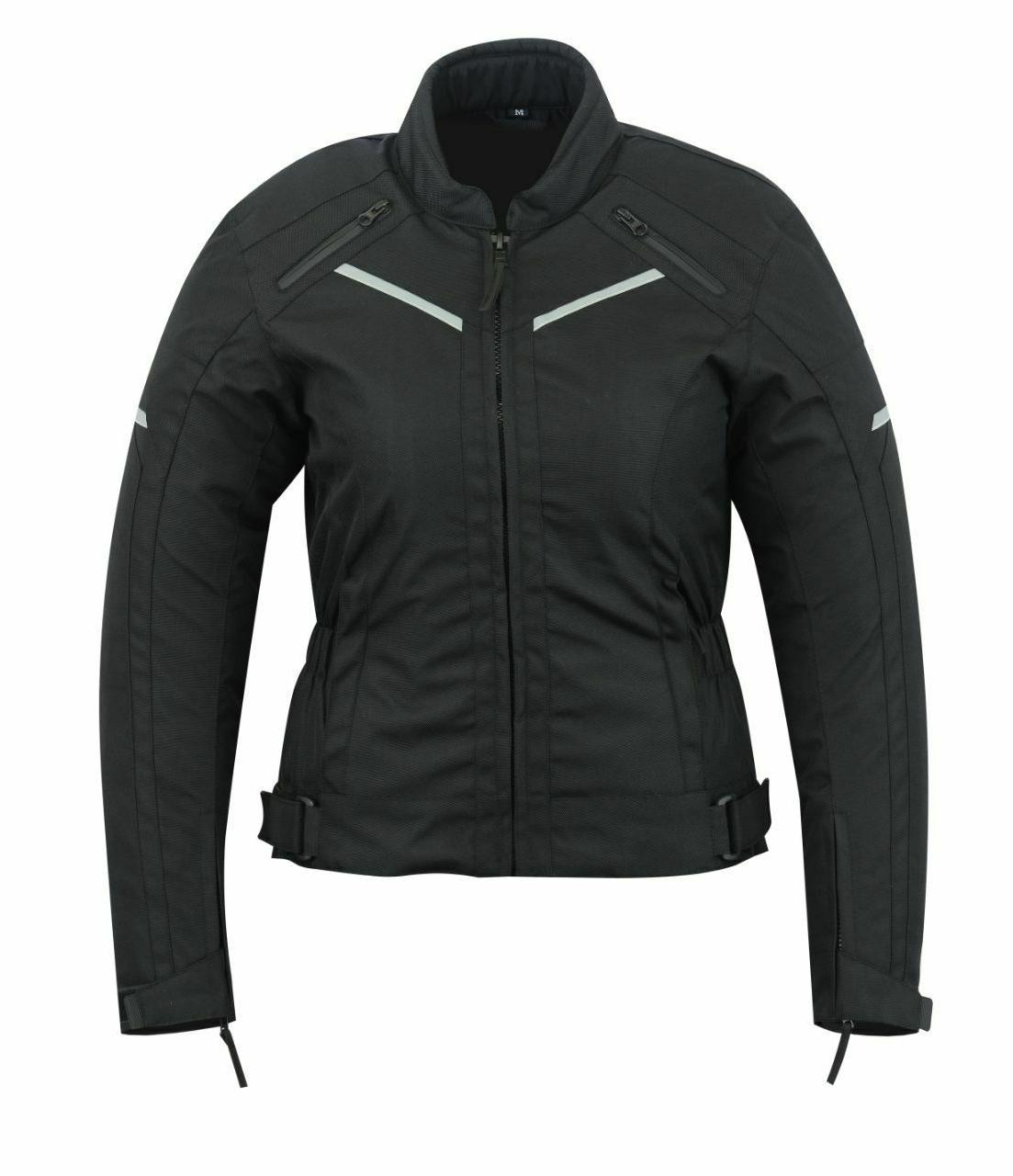 womens motorcycle armored high protection waterproof jacket