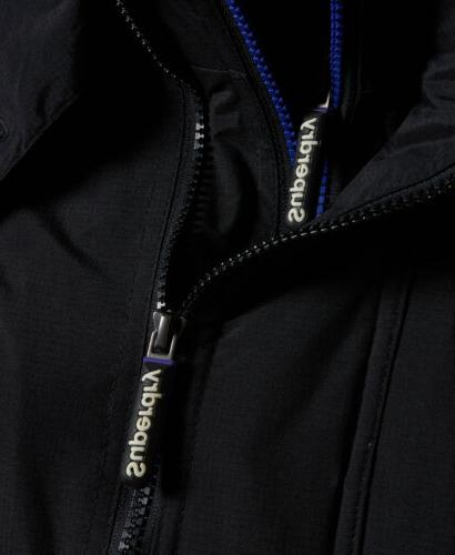 Womens Superdry Hooded Arctic Black