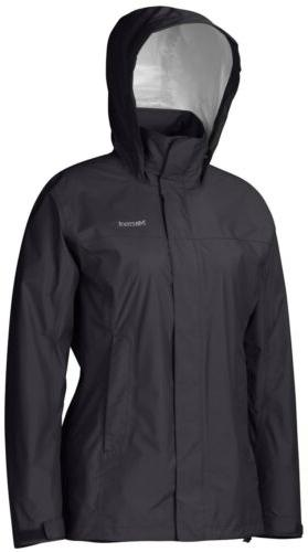 womens precip rain jacket xl black